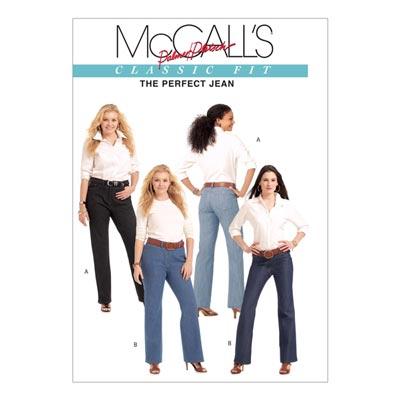Jeans, McCalls 5894 | 34-42