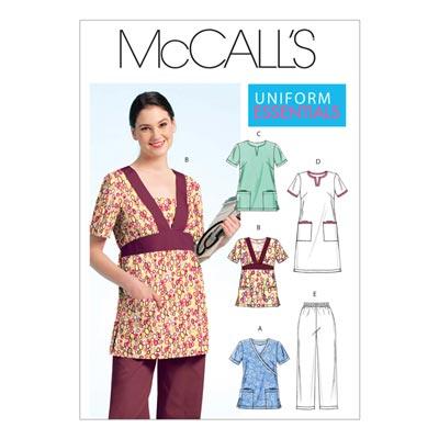 Kleid/Hose/Top, McCalls 5895 | 34-42