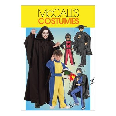 Superhelden-Kostüme für Kinder, McCalls 5952 | 128-152