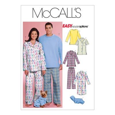 Schlafoutfits, McCalls 5992 | 42-48
