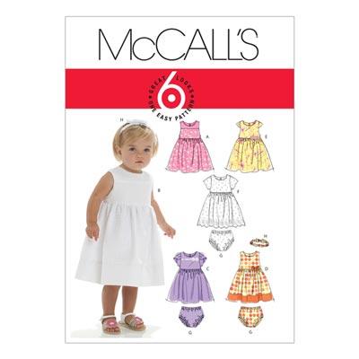 Babykleid, McCalls 6015 | One Size