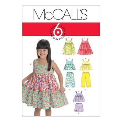 Shirt/Shorts/Top, McCalls 6017 | 110-122