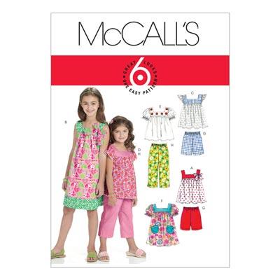 Kinderkleid/Shirt/Top, McCalls 6022 | 104-122