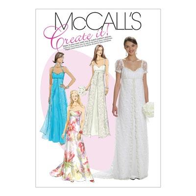 Abendkleid, McCalls 6030 | 32-40