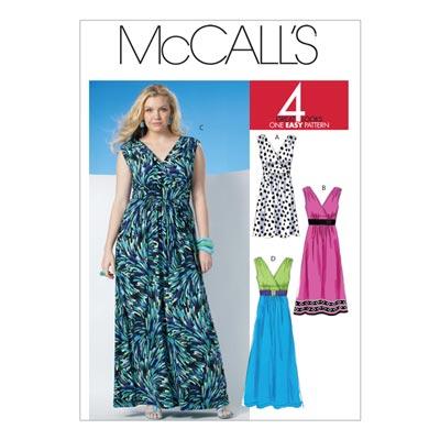 Kleid, McCalls 6073 | 34-42