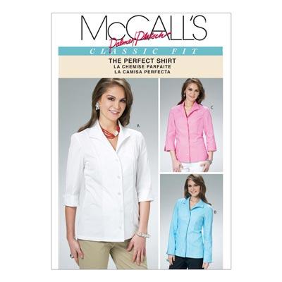 Bluse, McCalls 6076 | 34-40