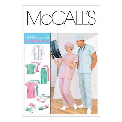 Arztkittel, McCalls 6107 | 46-52