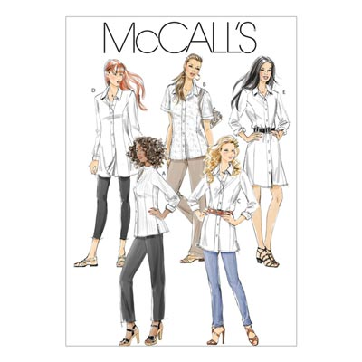 Hemd, McCalls 6124 | 38-42