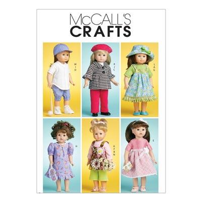 Puppenkleider, McCalls 6137 | One Size