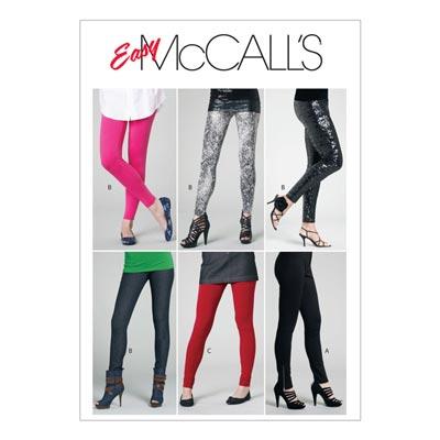 Leggins, McCalls 6173 | 30-38