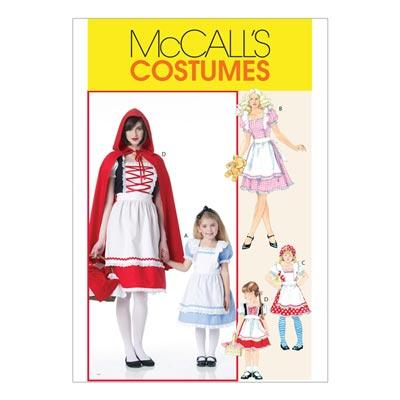 Märchen-Kostüme für Kinder, McCalls 6187 | 104-134