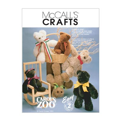Teddybär, McCalls 6188 | One Size