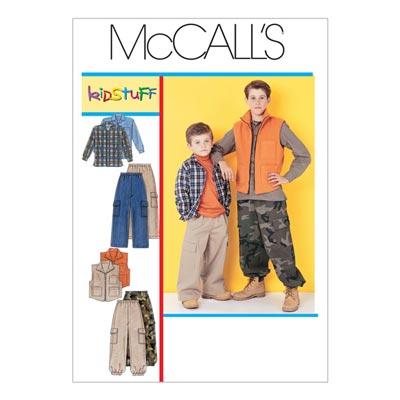 Hose/Weste/Shirt, McCalls 6222 | XS - S