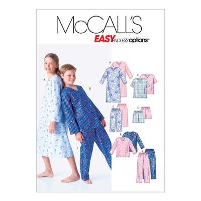Schlafanzug, McCalls 6227 | 128-146