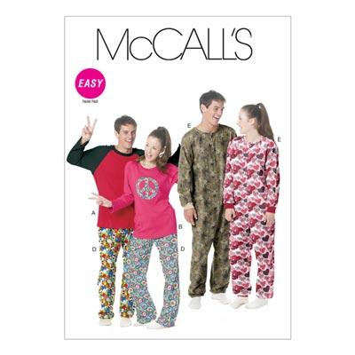 Schlafanzug, McCalls 6251 | L-XL