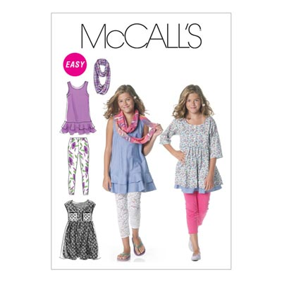 Kleid/Hose/Tuch, McCalls 6275 | 140-158