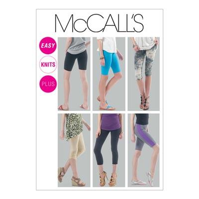 Leggins, McCalls 6360 | 44-50