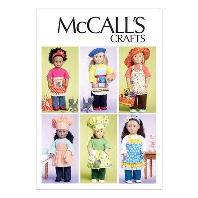 Puppenkleider, McCalls 6451 | One Size