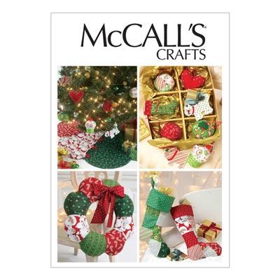 Weihnachtsdekoration, McCalls 6453 | One Size