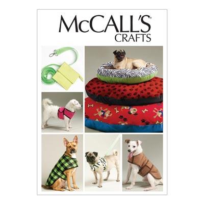 Hundeaccessoires, McCalls 6455 | One Size