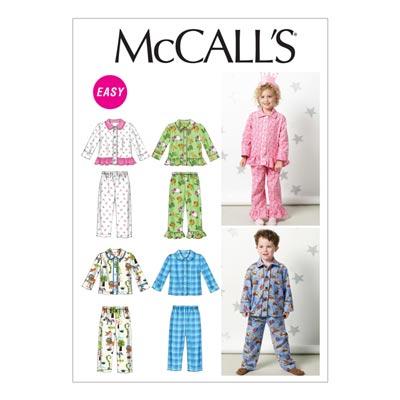 Schlafanzug, McCalls 6458 | 110-122