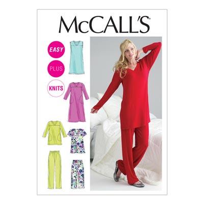Schlafanzug, McCalls 6474 | 34-50