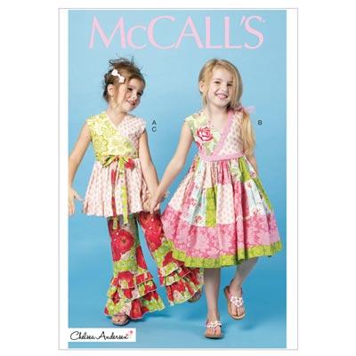 Kleid/Hose/Top, McCalls 6497 | 122-134