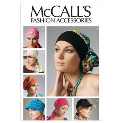 Kopfbedeckung, McCalls 6521 | One Size
