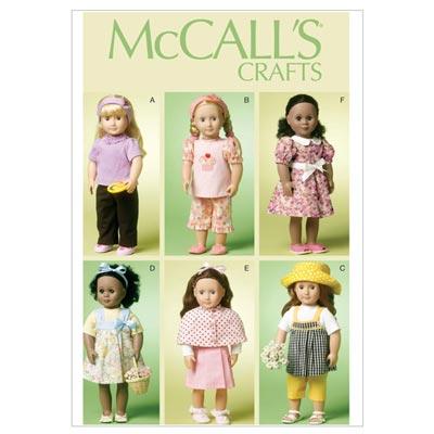 Puppenkleider, McCalls 6526 | One Size