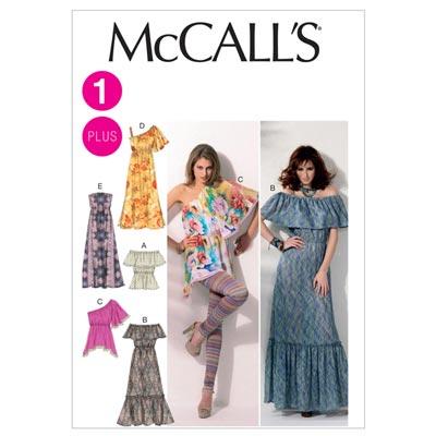 Kleid/Top, McCalls 6558 | 34-50