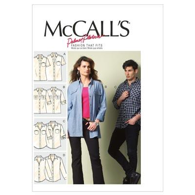 Shirt, McCalls Unisex6613 | 46-50