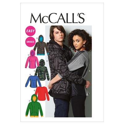 Jacke/Shirt Unisex, McCalls 6614 | 34-44