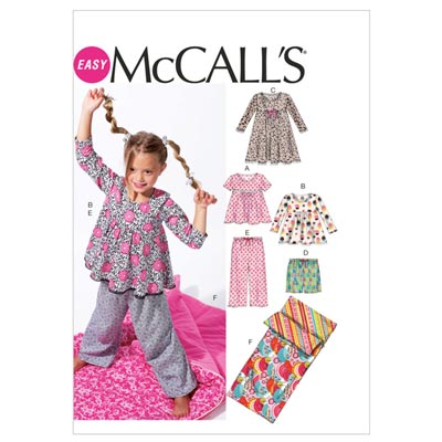 Schlafsack/Top/Hose, McCalls 6643 | 32-36