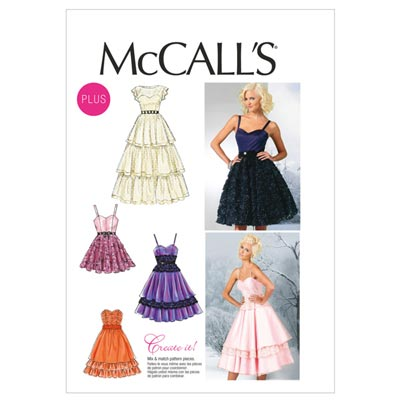 Kleid, McCalls 6646 | 44-50
