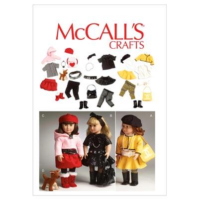 Puppenkleider, McCalls 6669 | One Size