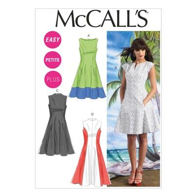 Kleid, McCalls 6741 | 34-50