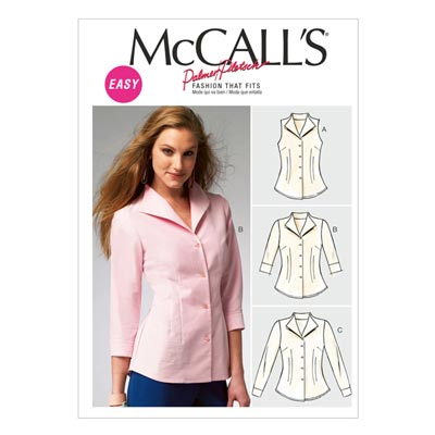 Bluse, McCalls 6750 | 34-42