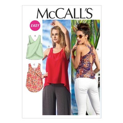 Top, McCalls 6751 | 32-40
