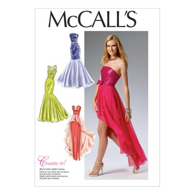Top, McCalls 6838 | 32-40