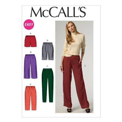 Hose, McCalls 6843 | 32-40