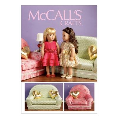 Puppenkleider, McCalls 6853 | One Size