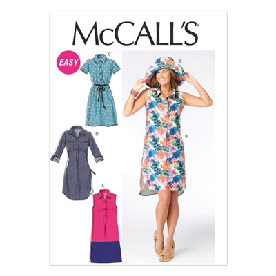 Kleid, McCalls 6885 | 42-50