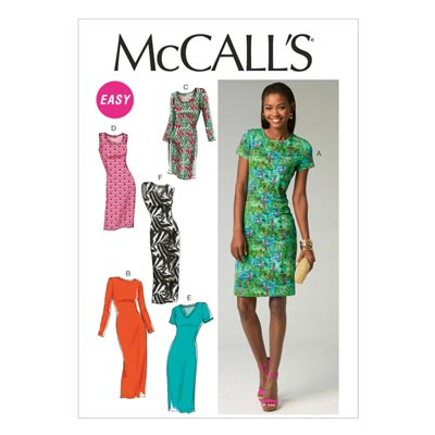 Kleid, McCalls 6886 | 32-40