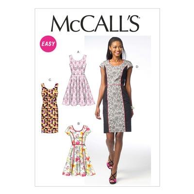 Kleid, McCalls 6887 | 40-48