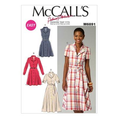 Kleid, McCalls 6891 | 42-50