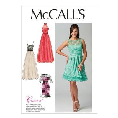 Kleid, McCalls 6893 | 34-42