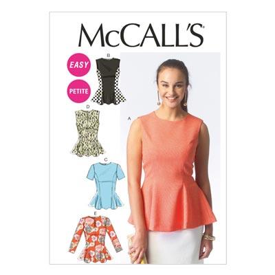 Top, McCalls 6896 | 34-42