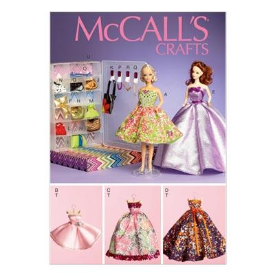 Puppenkleider, McCalls 6903 | One Size