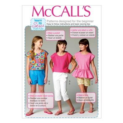 Top/Hose, McCalls 6917 | 128-152