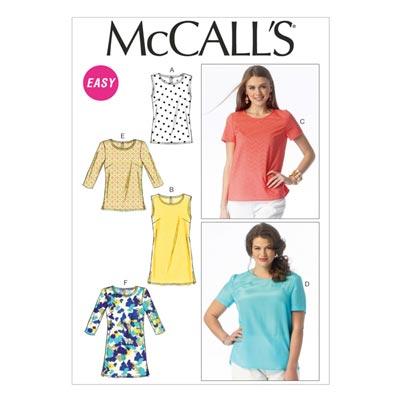 Top, McCalls 6927 | 34-50